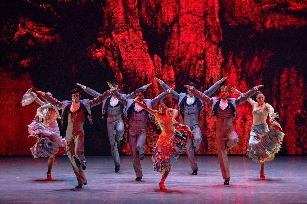 El Ballet Nacional de España estrena 'Capricho español' en la Gala Dance Open Ballet Festival de San Petersburgo (Rusia)