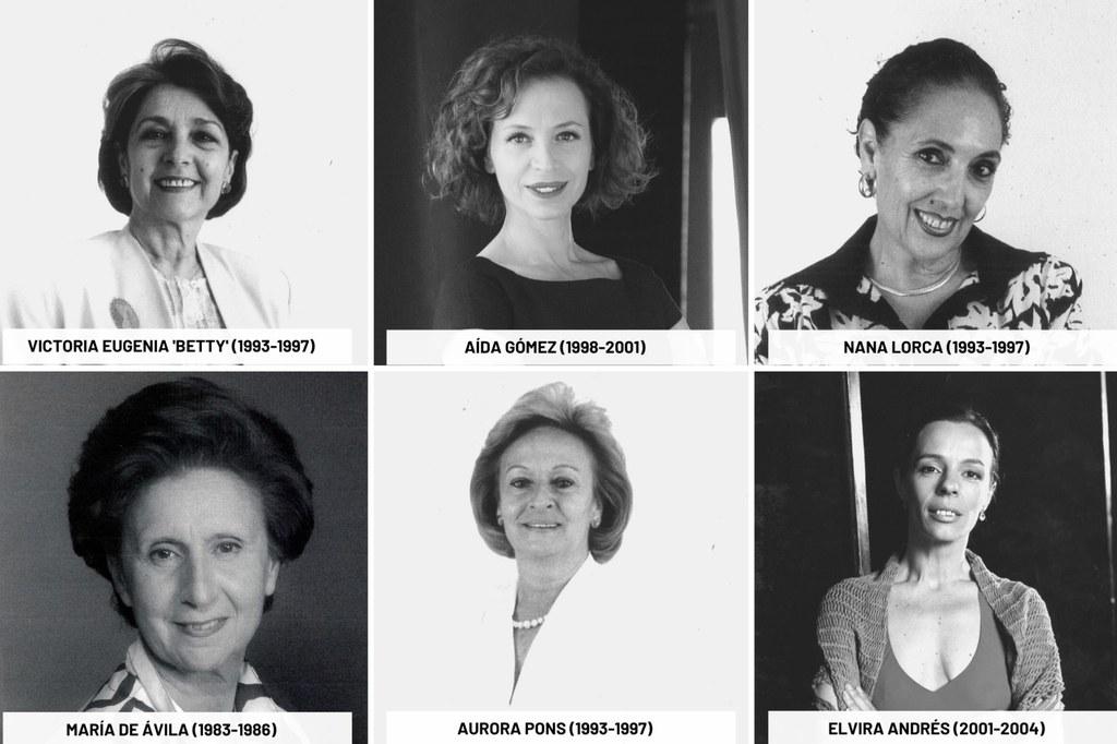 Recordamos a las directoras del Ballet Nacional de España con motivo del Día de la Mujer